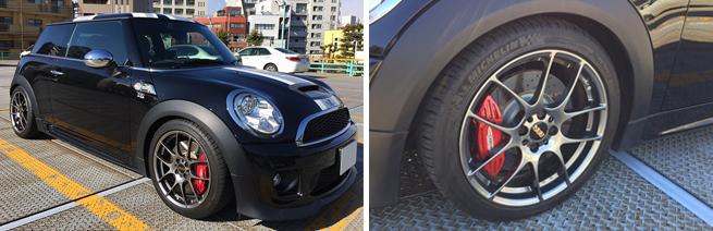 Mini R56 Jcw Rf・db Bbs Japan